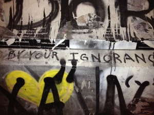 By your ignorance